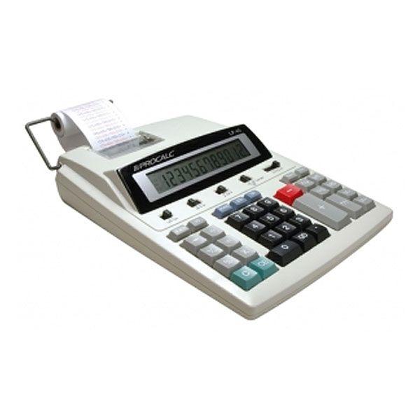 Calculadora Procalc Lp45 Impressão Bicolor 12 Dígitos Bivolt Automático