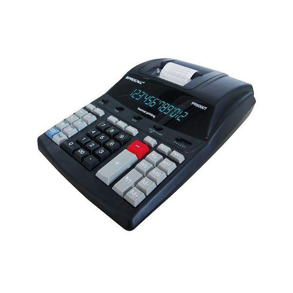 Calculadora Procalc Pr5000T Impressão Térmica de 5,6Lps com 12 Digitos