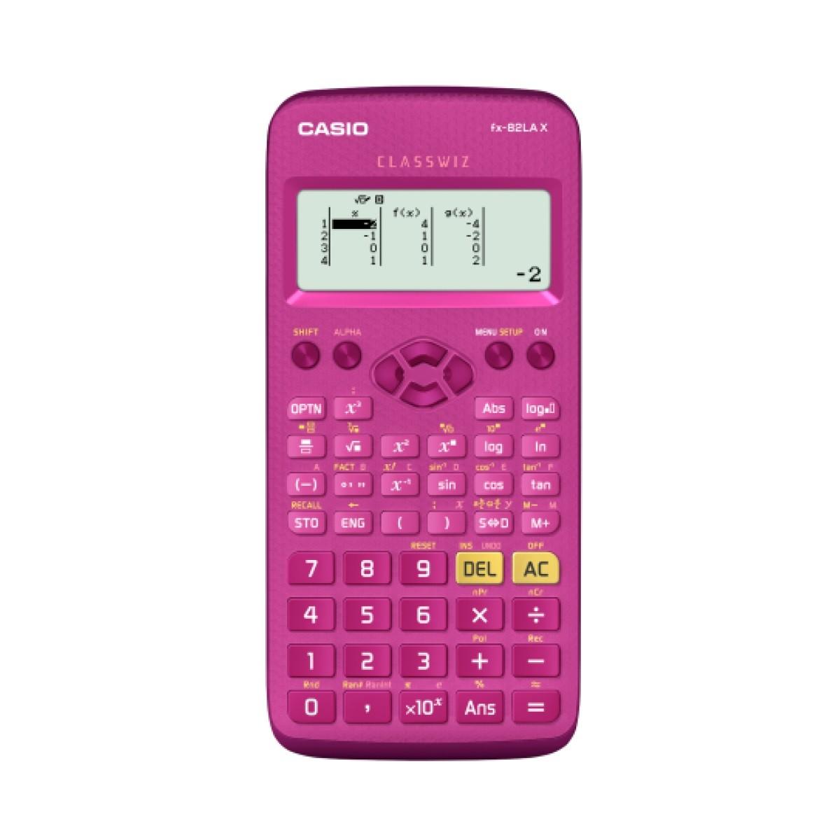 Calculadora Casio Fx-82Lax-Pk Pink Programável Cientifica Original 274 Funções
