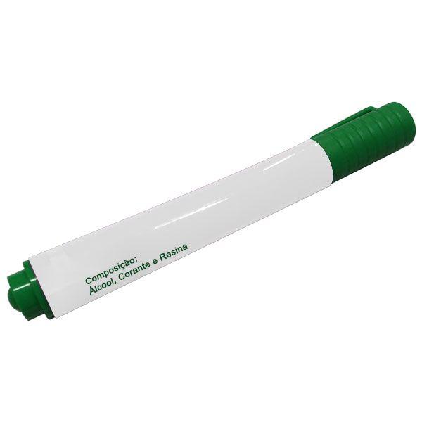 Canetas para Quadro Branco Verde Cx com 12 Unid