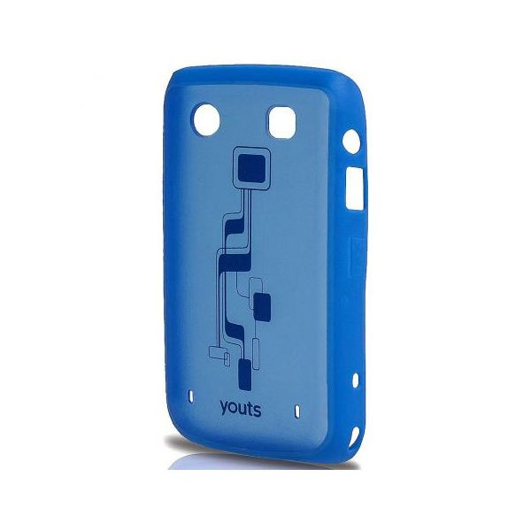 Capa para Blackberry Bold 9700 Youts Procase Air Azul