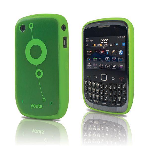 Capa para Blackberry Curve 8500 e 9300 Youts Procase Air Verde