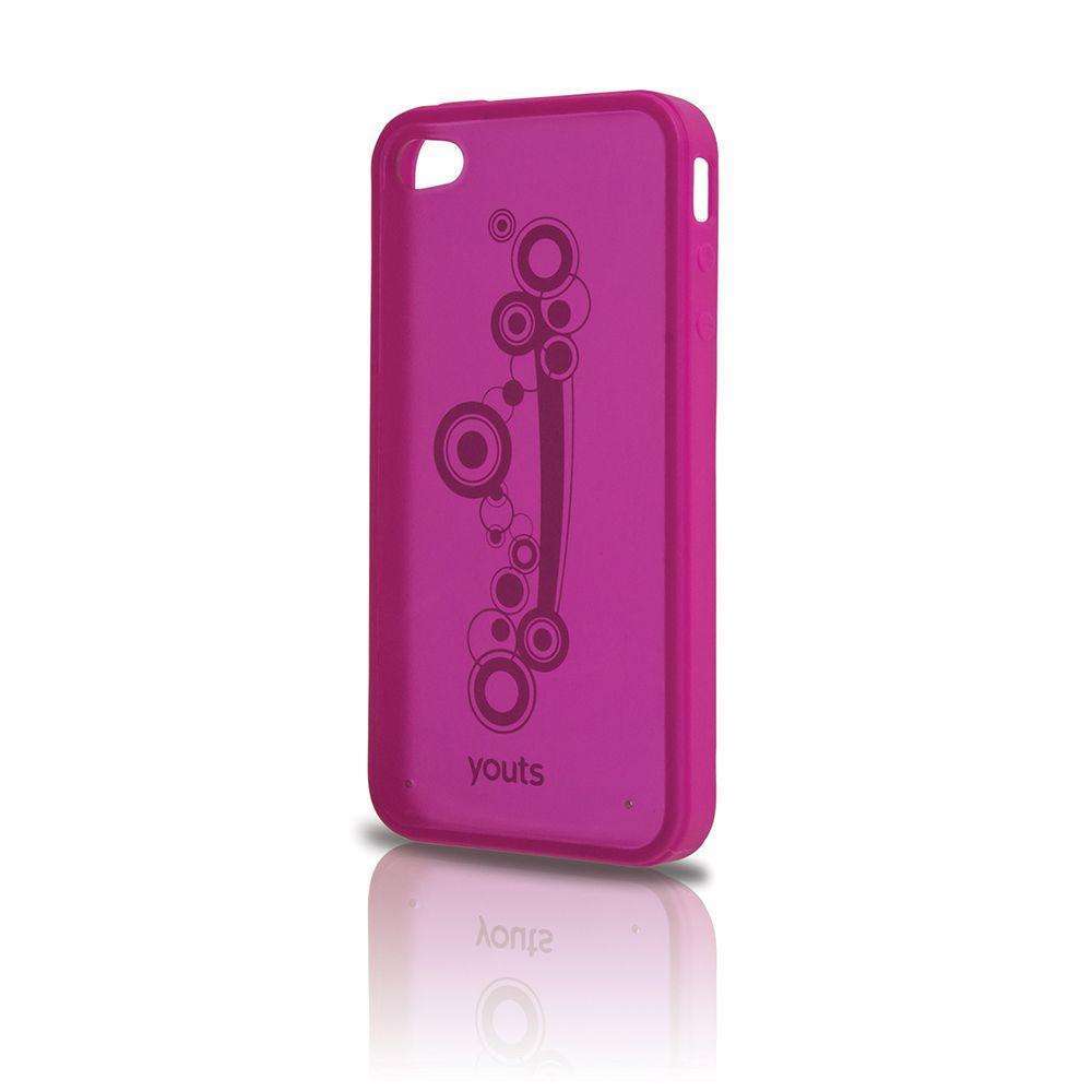 Capa para Phone 4 Youts Procase Air Rosa