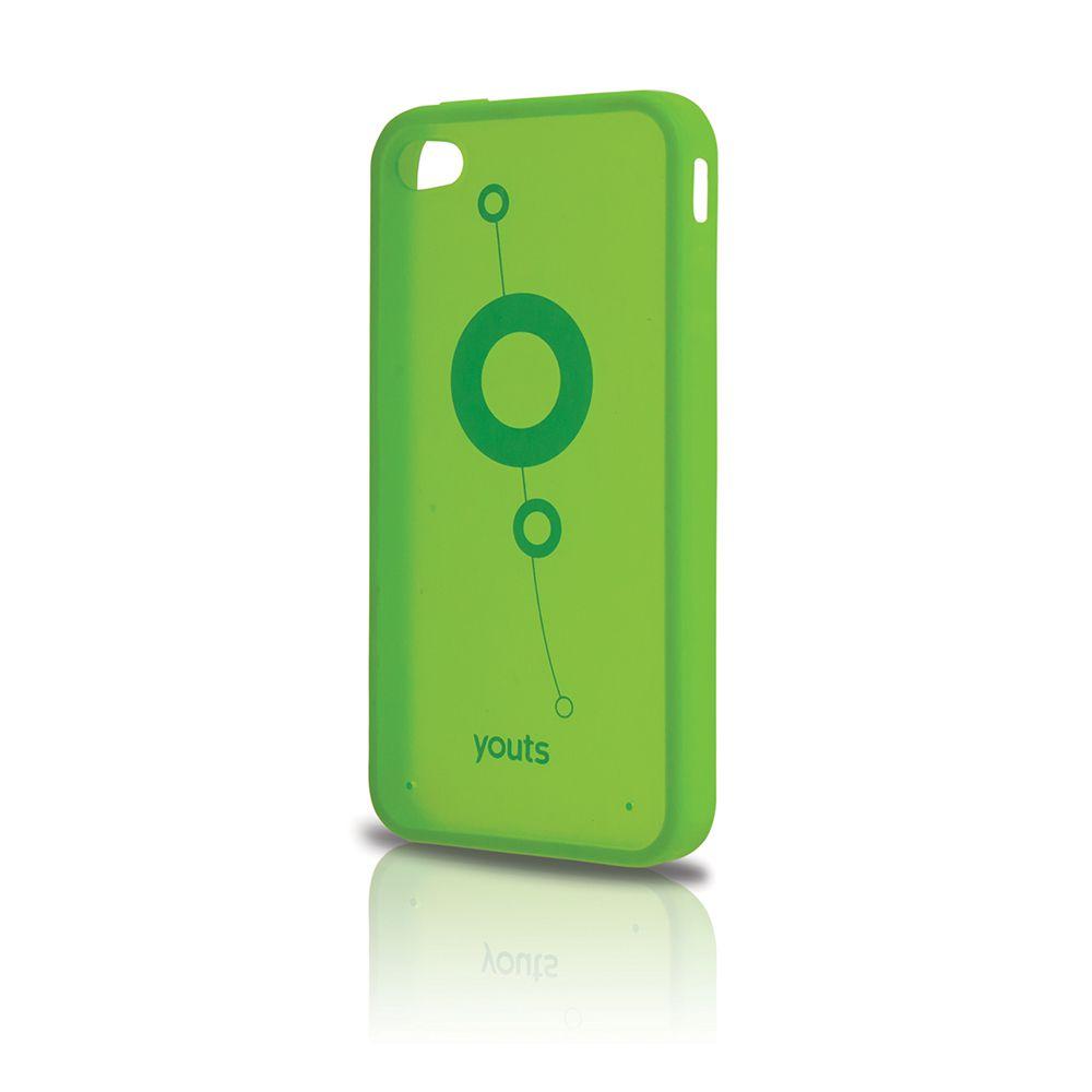 Capa para Phone 4 Youts Procase Air Verde