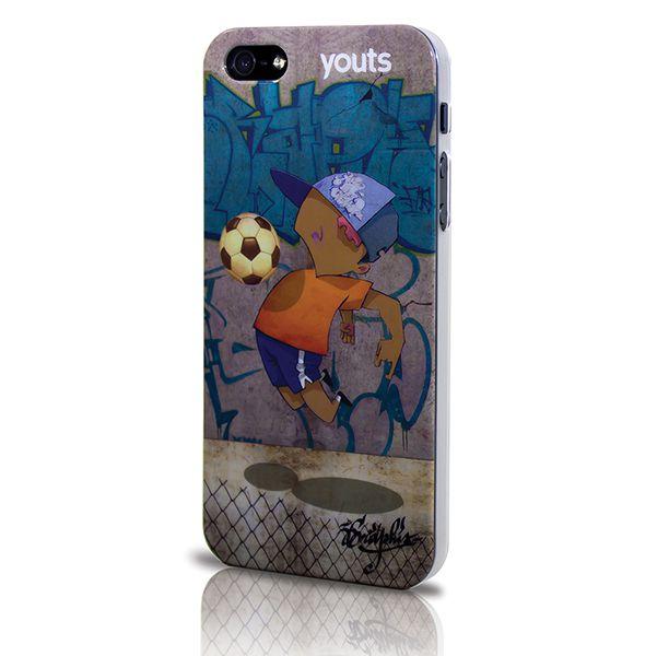 Capa para Phone 5 Youts Armour Street Art Collection GP Futebol