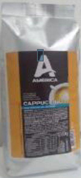 Cappuccino em Pó Solúvel América Zero Açucar 1Kg