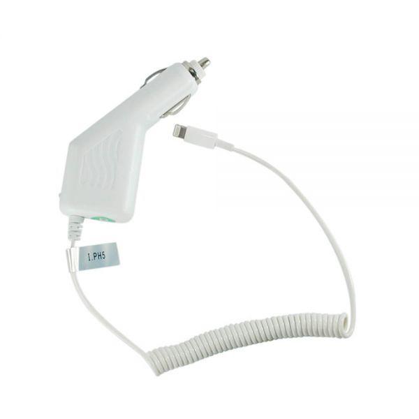 Carregador Veicular X-Cell Ip-5 Branco para Phone 5 6 7 8 9 e Ipad X