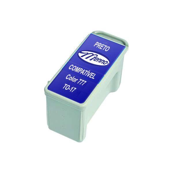 Cartucho Compatível Impressora Epson Stylus 777 680 685 Menno Gráfica Preto