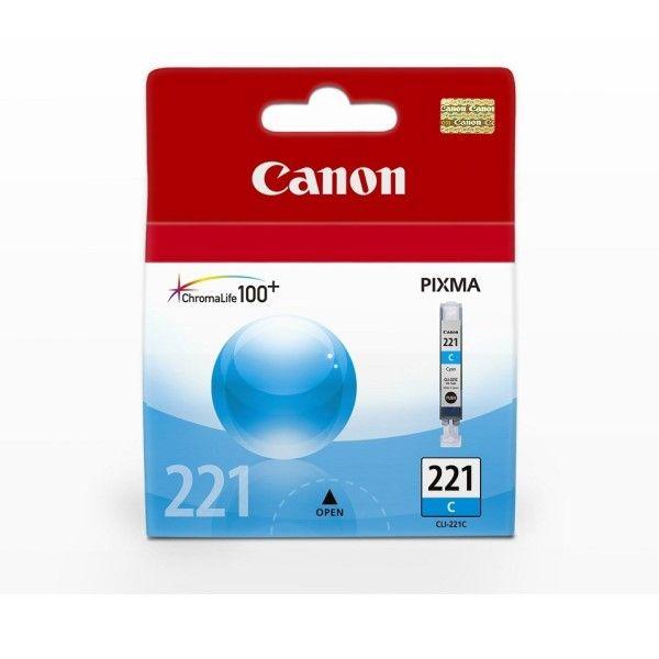Cartucho de tinta Canon Elgin CLI-221 C Azul