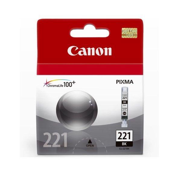 Cartucho de Tinta Canon Elgin Cli-221Bk Preto