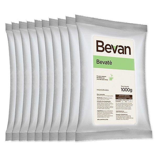 Chá Mate com Limão Solúvel Bevan Bevate 10Kg