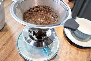 Coador de Café Bialetti Pour Over em Aco Inox