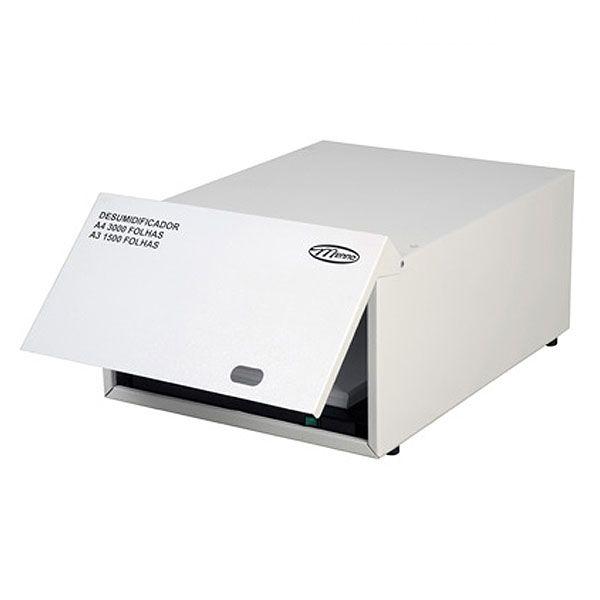 Desumidificador de Papel Menno Metálico 1500 Folhas A3 ou 3000 em A4 127v