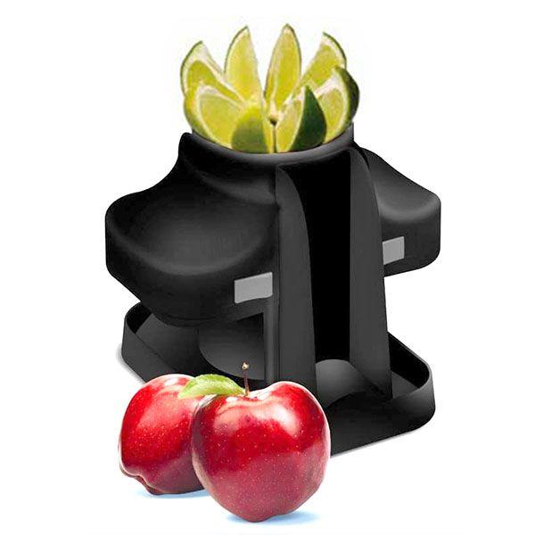 Fatiador de Frutas e Legumes Magicorte Limão 8 Fatias Preto 9003