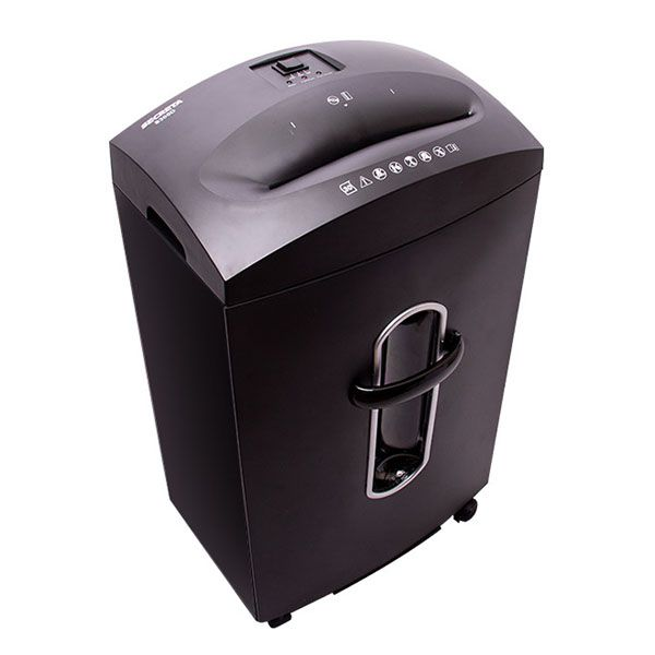 Fragmentadora Menno Secreta S300D 127v 30 Folhas Tiras 6mm Cc Cd Cesto 31L N02