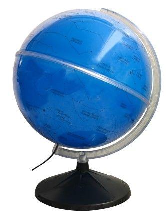 Globo Celeste Libreria 30cm Cielo 30I-Azul-Lb/Bs-Pp 312935 Estrelas Céu Bivolt Base Preta
