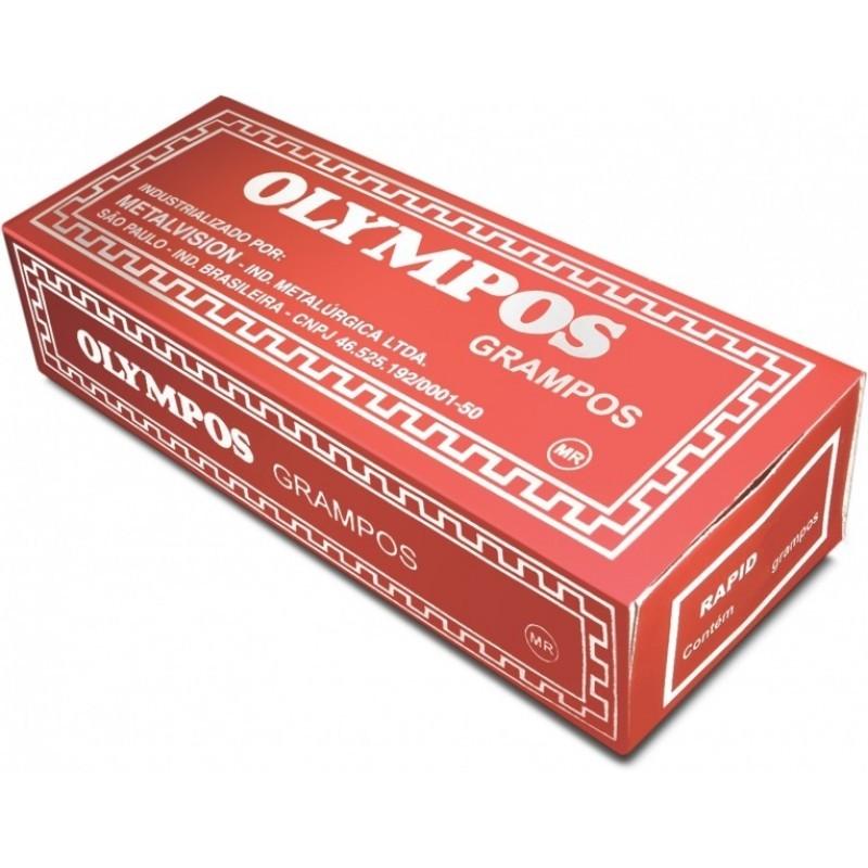 Grampos Olympos Nº13 6mm Cx com 5000 Grampos