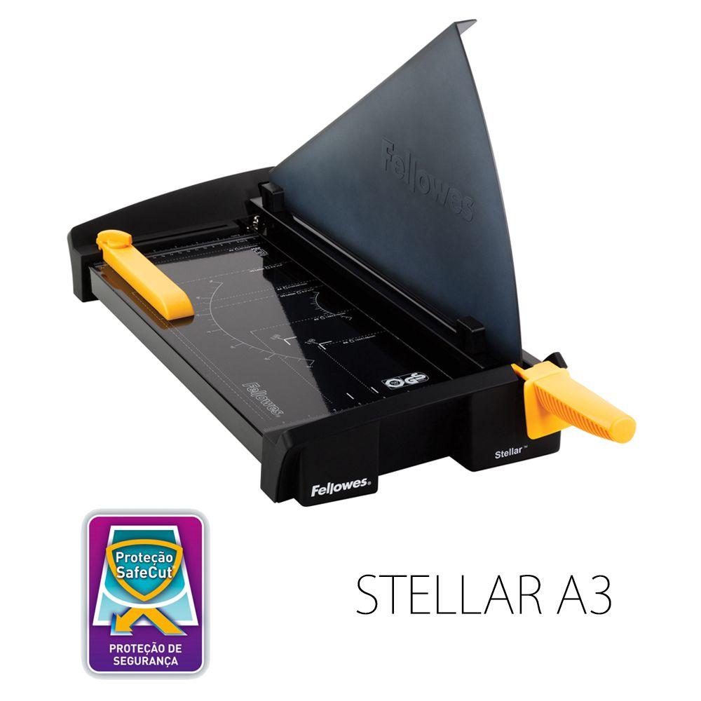 Guilhotina Fellowes Stellar A3 Corta até 20 Folhas alta qualidade para uso intenso