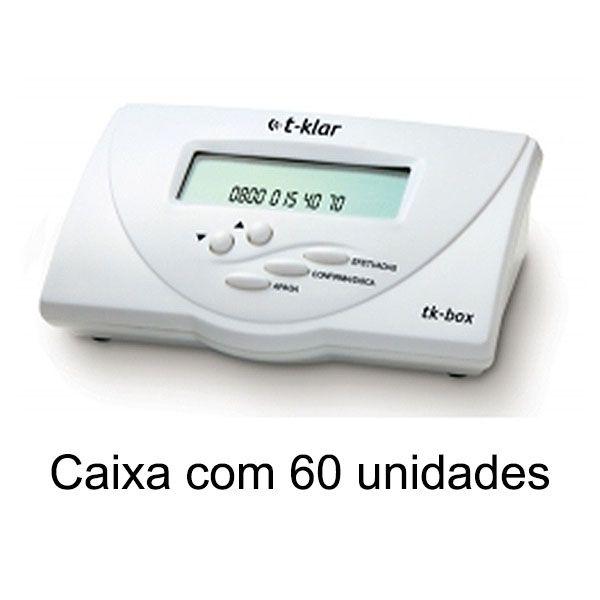 Identificador de Chamadas Bina T-Klar Tk-Box Branco Compacto Cx 60 unid