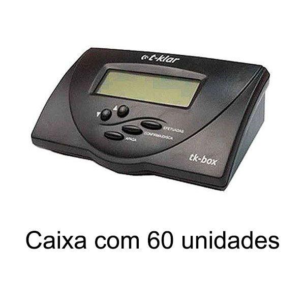 Identificador de Chamadas Bina T-Klar Tk-Box Preto Compacto Caixa com 60 unidades