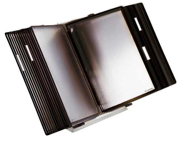 Kit de suporte de mesa anti-micróbio Tarifold Sterifold 434157 com 10 pastas