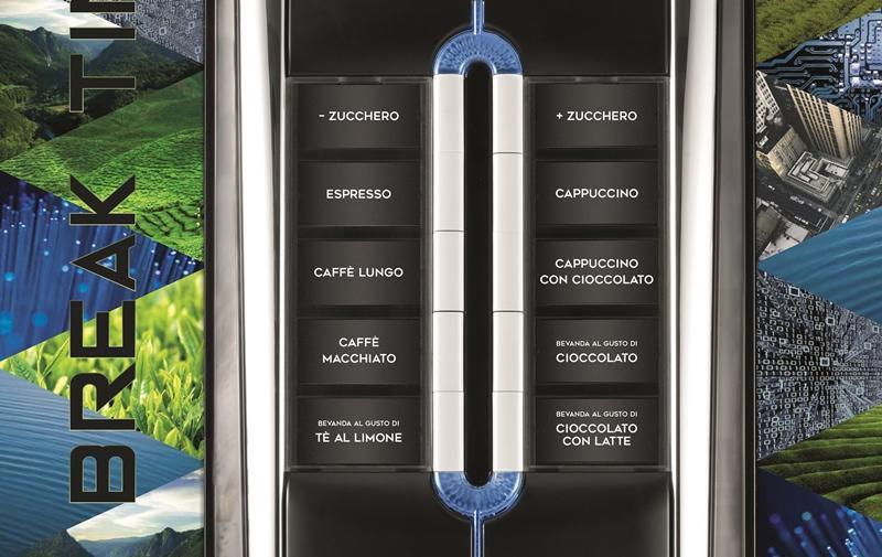 Máquina de Café Necta Solista 220V Multibebidas Vending