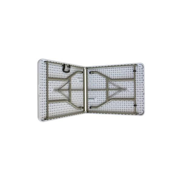 Mesa Retangular Dobrável ao meio Duratec Mrdm180 180 x 74 cm