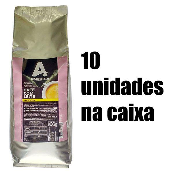 Mistura em Pó América Café com Leite 10Kg