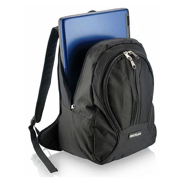 Mochila para Notebook Standart Executiva Young Nylon Dupla Proteção Preta Multilaser Bo008