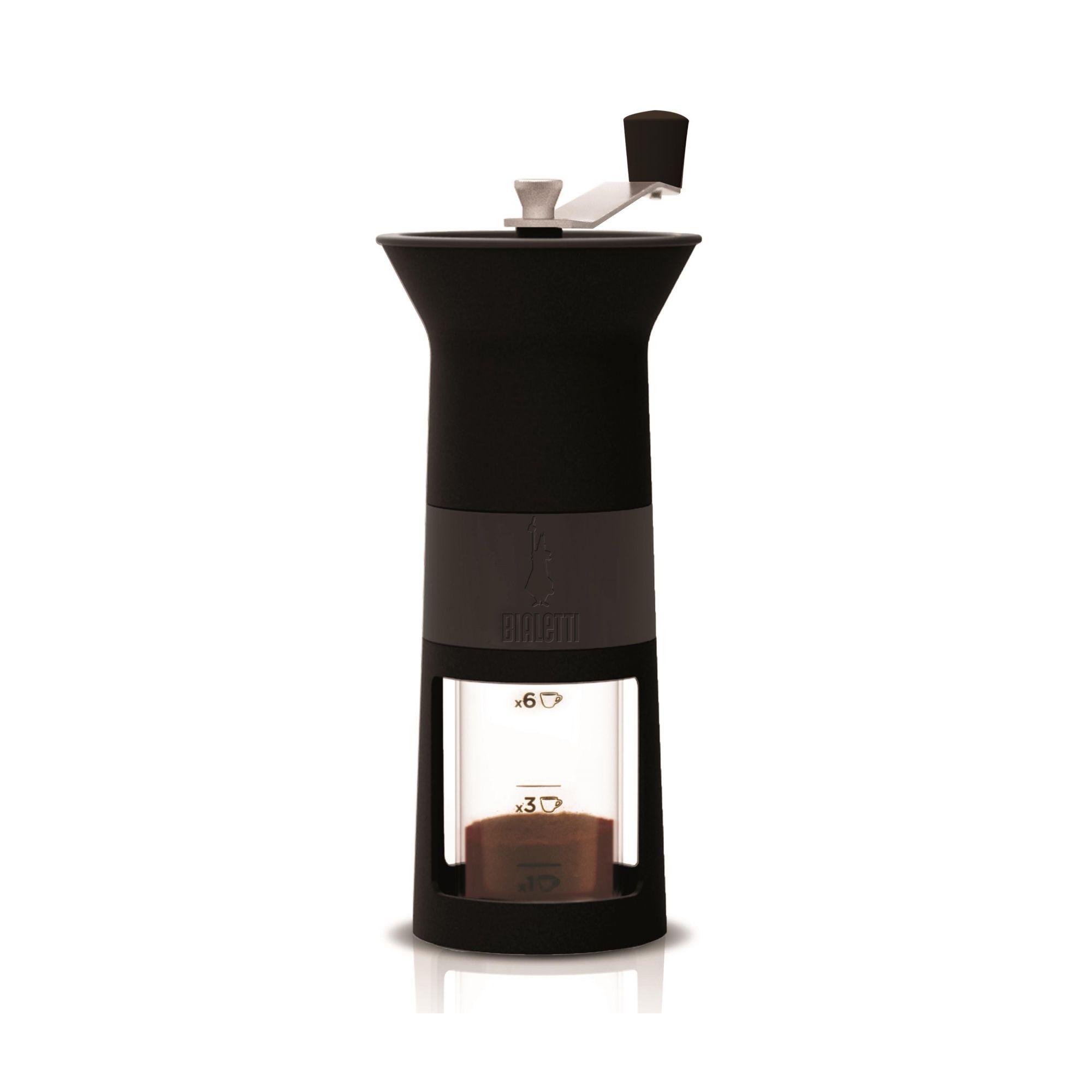 Moedor de Café Manual Bialetti Preto