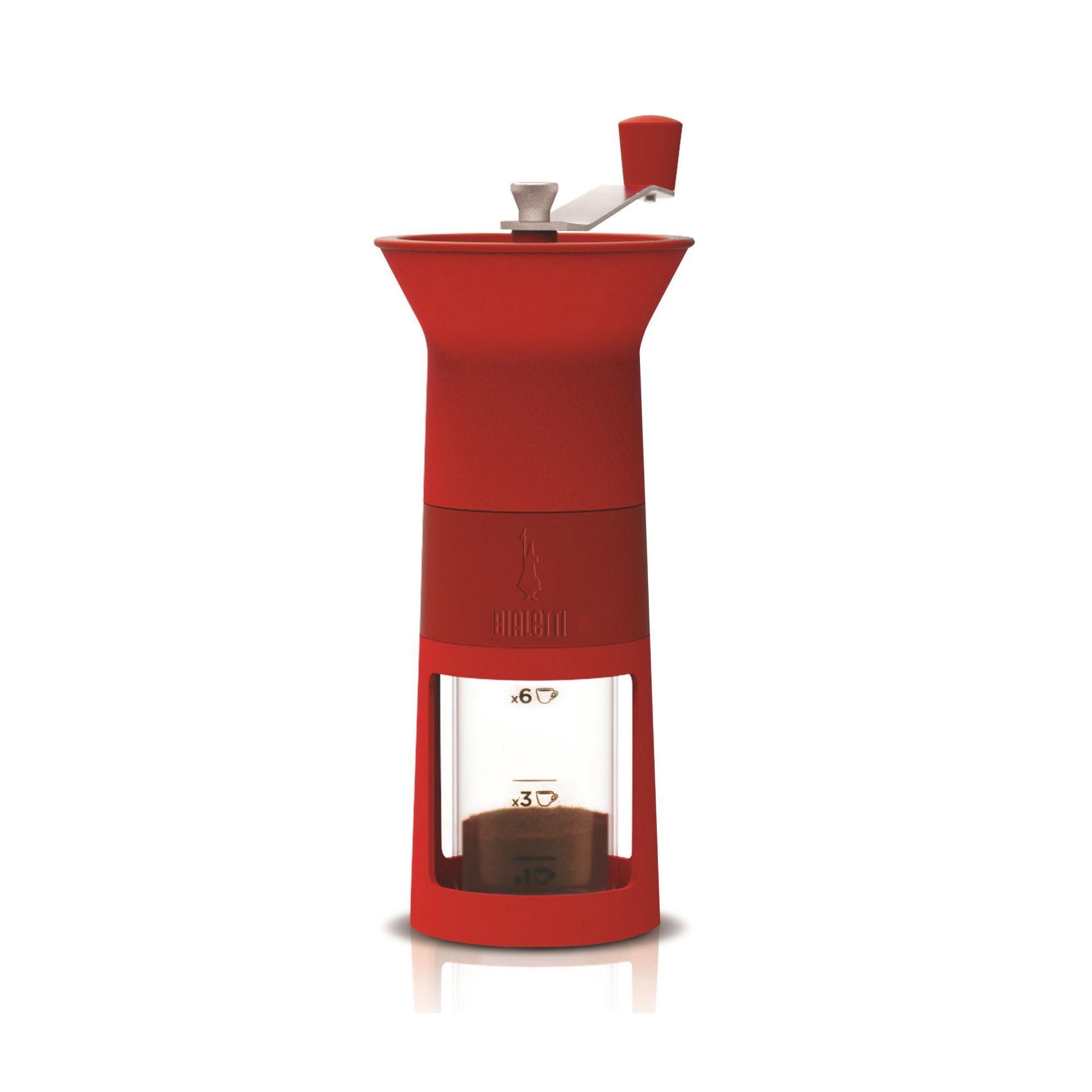 Moedor de Café Manual Bialetti Vermelho