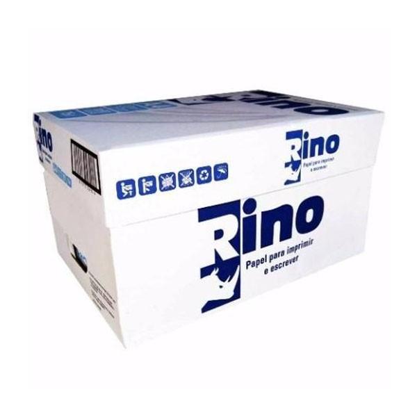 Papel Sulfite A4 Rino 75G Cx 5000 Folhas Branco 10 Pacotes 210mm x 297mm