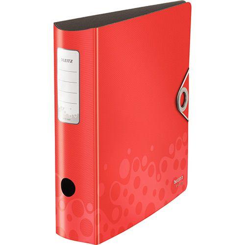Pasta Arquivo de Alta Capacidade Esselte Leitz Bebop Vermelha 63459 Larga: 82mm - 500 folhas