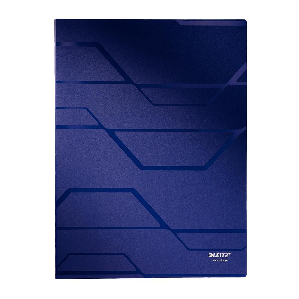 Pasta Catálogo Esselte Leitz Prestige Azul 40 Plásticos 63511