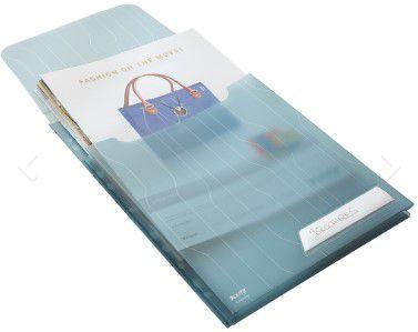 Pasta L Expansivel Esselte Leitz Combifile Azul capac. 150 fls com 3 unid. 63481