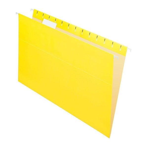 Pasta Suspensa Pendaflex Essentials Amarela H.Metal 25 Unid 81626