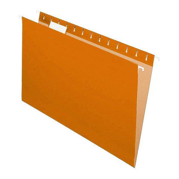 Pasta Suspensa Pendaflex Essentials Laranja H.Metal 25 Unid 81627