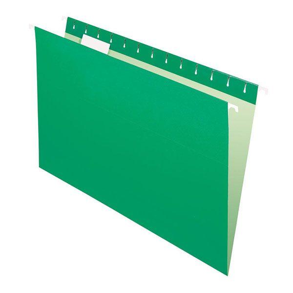 Pasta Suspensa Pendaflex Essentials Verde H.Metal 25 Unid 81630