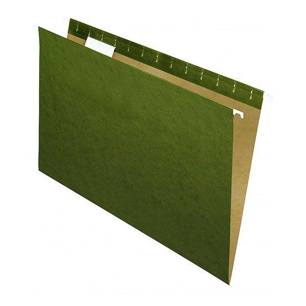 Pasta Suspensa Pendaflex Essentials Verde Escuro Haste Metal Caixa Master 250 Pastas