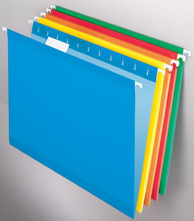 Pasta Suspensa Pendaflex Reforçada Azul H.Metal 25 Unid 4153-Blu