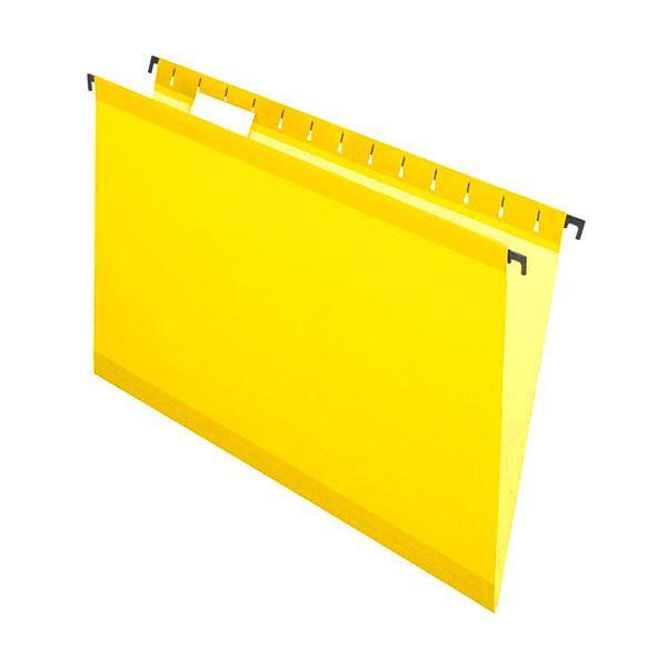 Pasta Suspensa Pendaflex Surehook Amarelo H.Metal 20 Unid 6153-Yel com Extensor