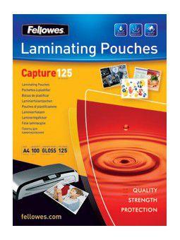 Polaseal Pasta para Plastificação Fellowes CRC 53067 65X95mm 125 micras 100 unidades