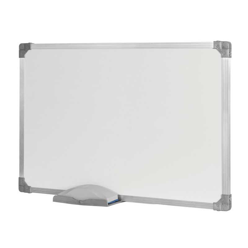 Quadro Branco Stalo 120 x 200 cm Não Magnético com Moldura de Alumínio 10535