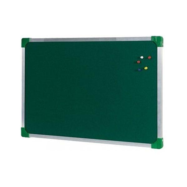 Quadro de Feltro Verde Stalo Popular Free 90x120cm Moldura Alumínio 8950