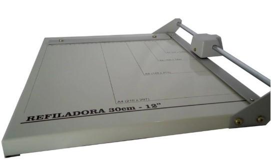Refiladora em Aço Excentrix Da30 Corte 305mm Base 340x400 Cap.Corte 5 Folhas Peso 3K