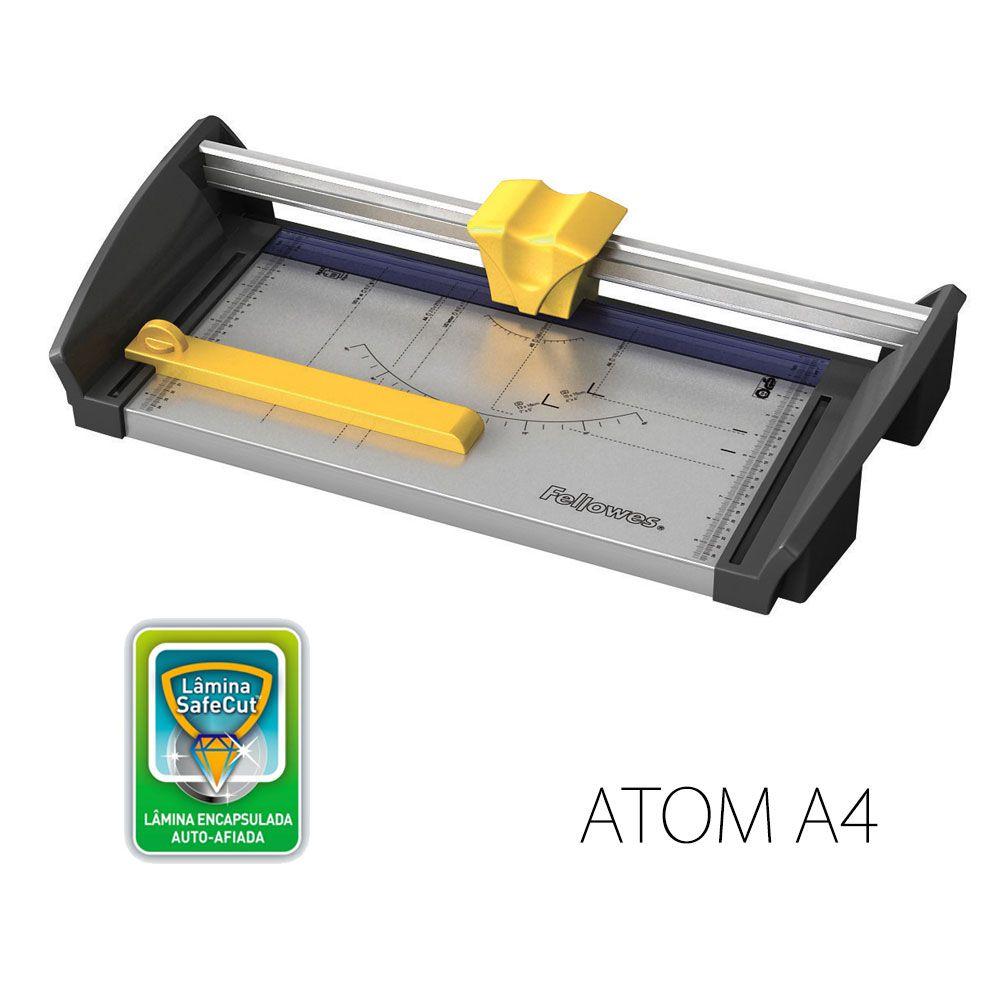 Refiladora Fellowes Atom A4 corta até 30 folhas uso intenso