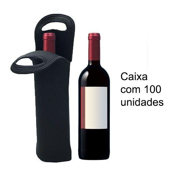 Sacola Neoprene Neoclo 10 Wine Bag Tocave para Transportar Garrafas Cx 100 unid