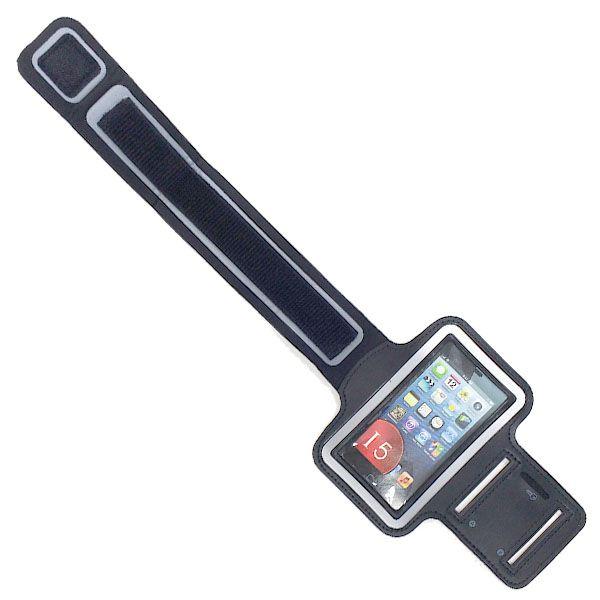 Suporte Braçadeira Neoprene X-Cell Xc-Sb-Iph5S Preto Compativel Phone 5 e 6