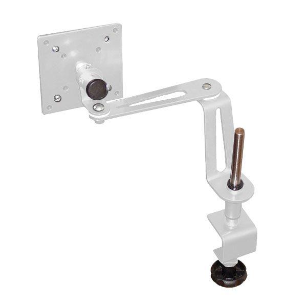 Suporte de Mesa Multivisão Lcd-Flex-Slim-Pc para Monitor 10 a 17 Branco