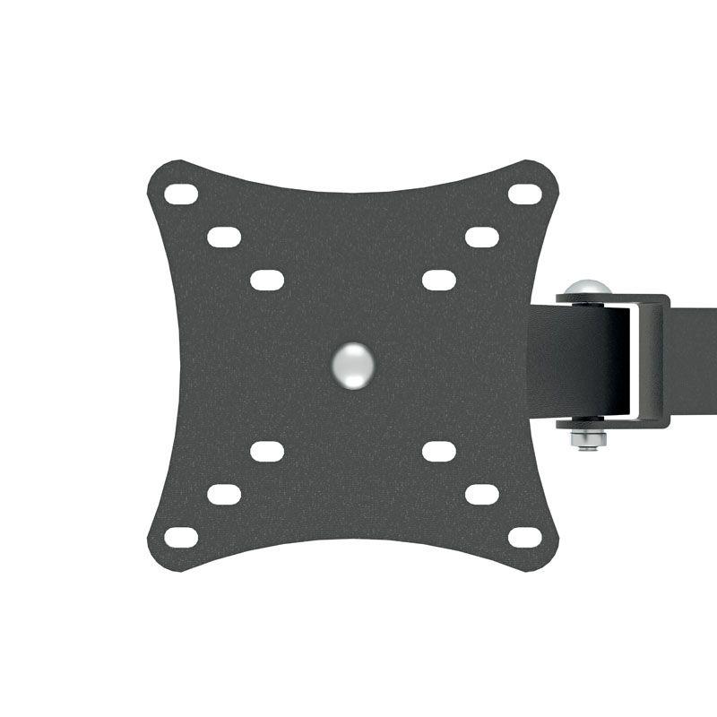Suporte de mesa triarticulado para dois monitores Multivisão MT2ERGO Ergonômico NR17 com inclinação 10 a 24 polegadas